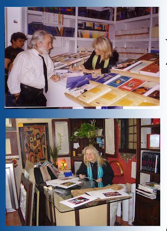 Firmas. Feria del libro. Madrid