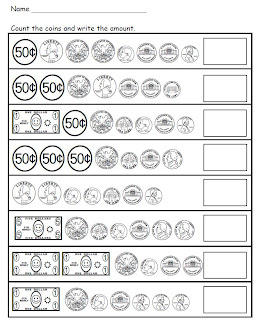 math worksheet : smiling and shining in second grade counting money : Touch Dot Math Worksheets