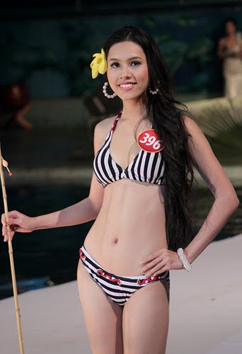 Vu Hoang My is Miss Vietnam Universe 2011