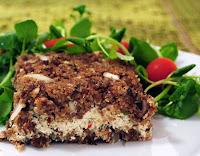 Quibe de Soja Recheado com Creme de Tofu (vegana)