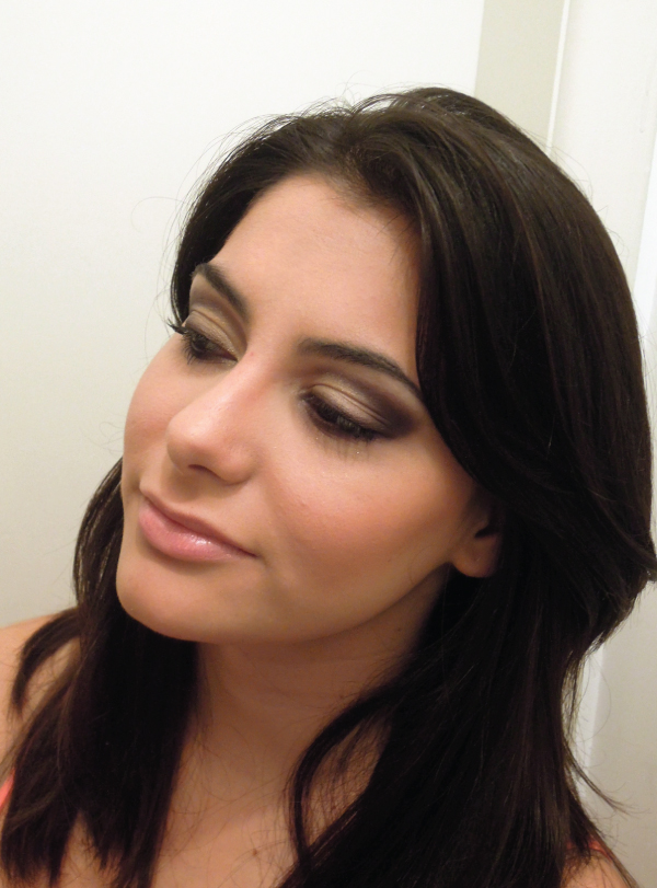 Bárbara Urias - maquiagem de natal