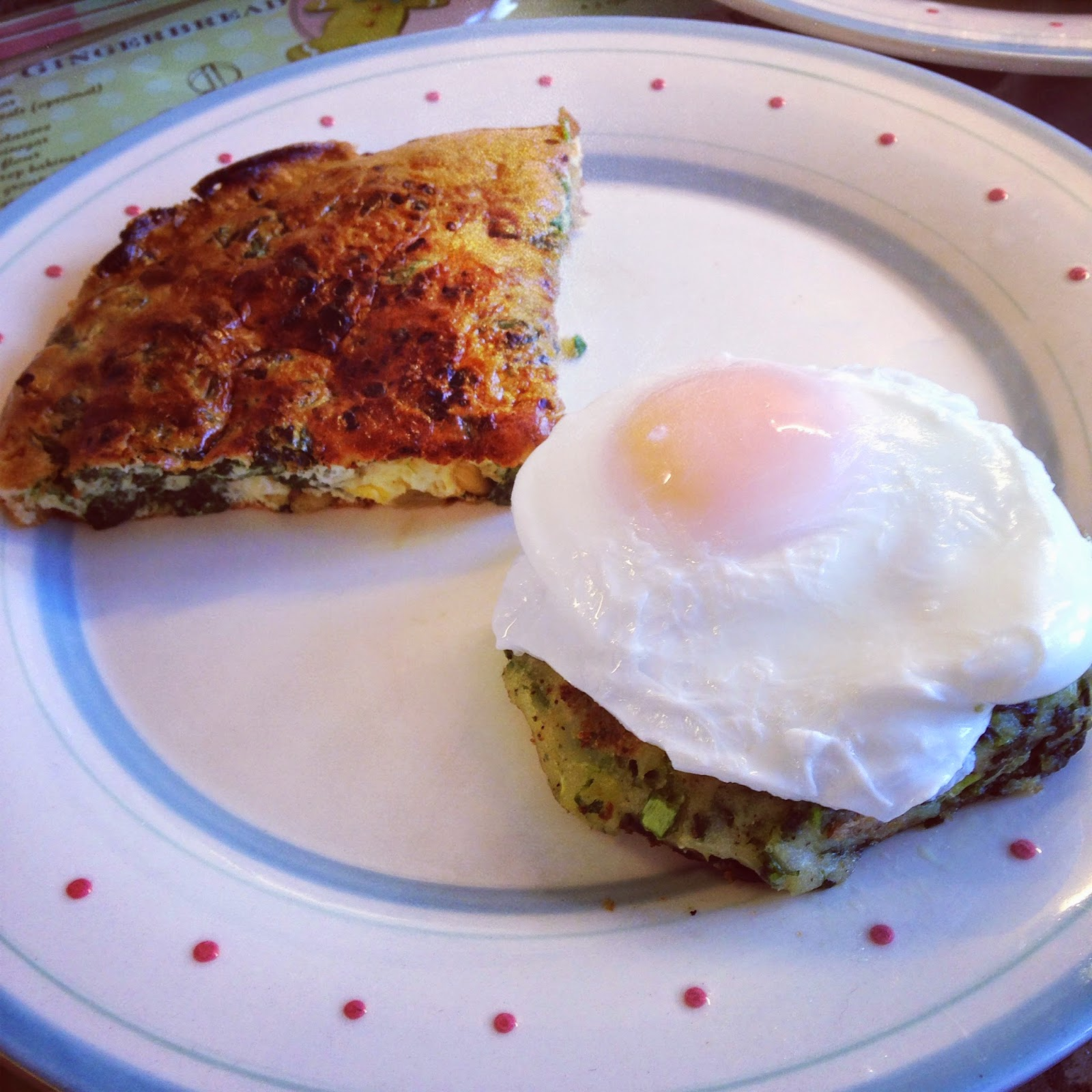 The Perfect Partners Potato Cakes And Frittata For A Weekend Brunch ...