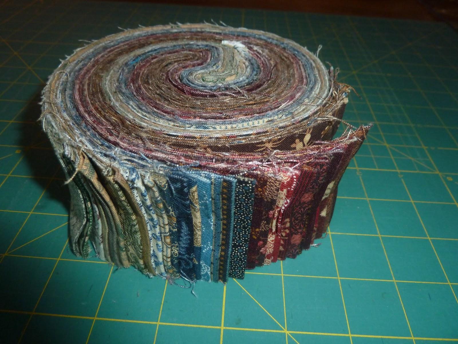 Maven in training: Moda jelly roll floor pillows