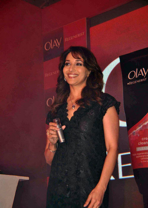 madhuri dixit in black event shoot unseen pics