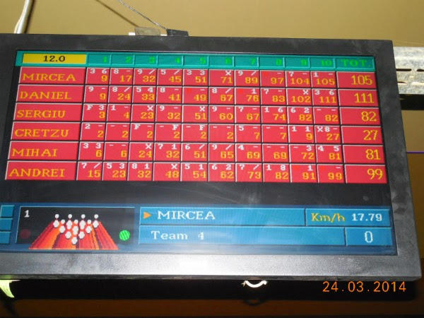 scor final la bowling