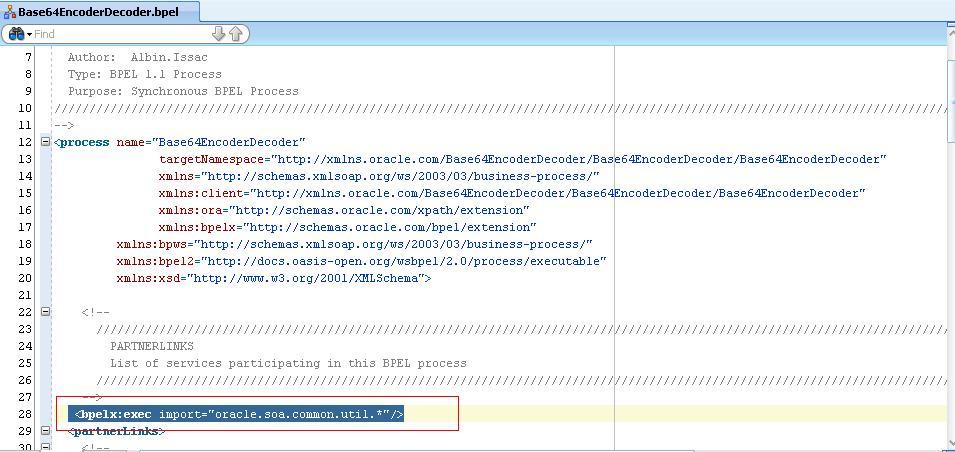 Base64 Encodingdecoding In Oracle Bpel 11g