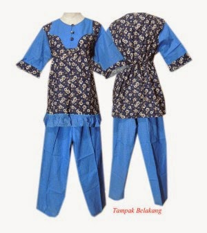 Model Baju Batik Ibu Hamil