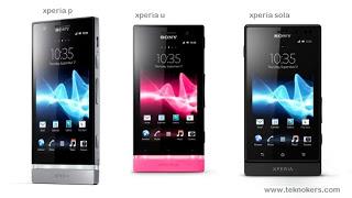 Harga Handphone Android Sony Xperia baru dan bekas