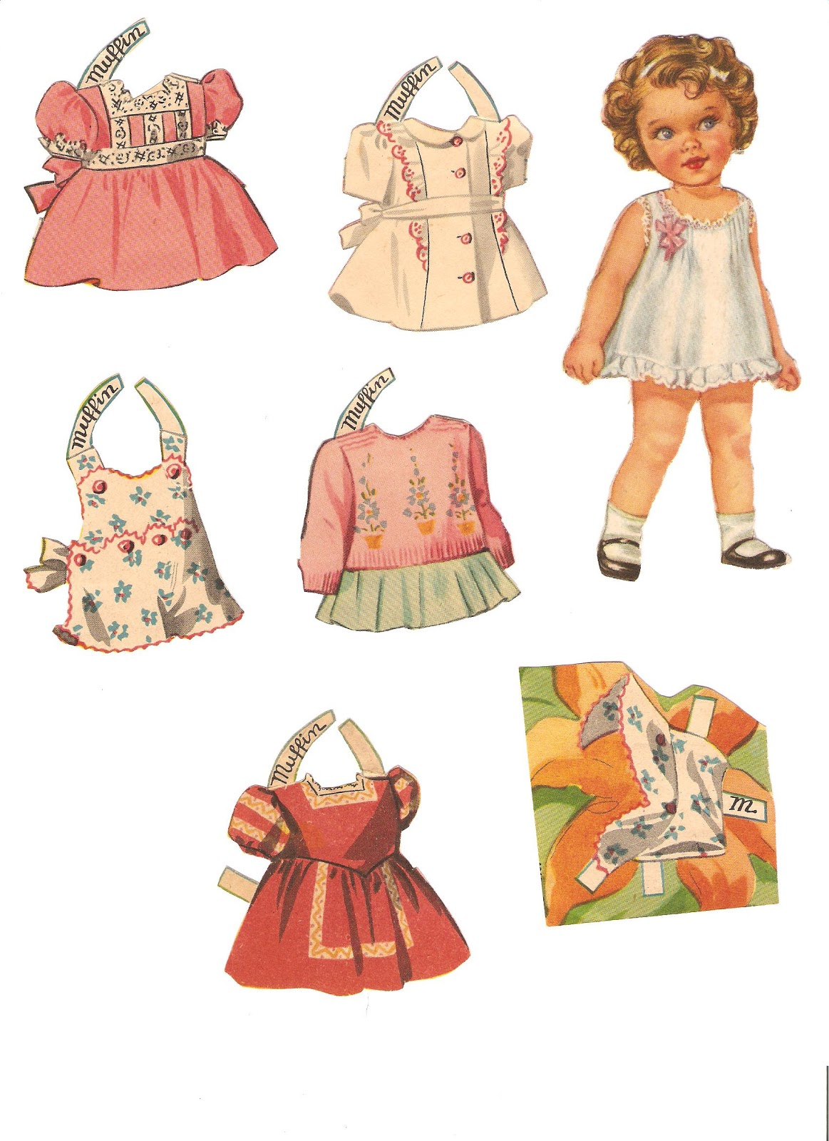 Miss Missy Paper Dolls: Baby Mine