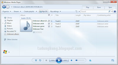 Cara Mudah Copy File CD Audio (.cda) ke MP3