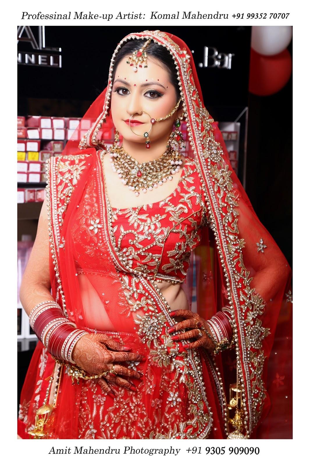 Komal mahendru s professional makeup lucknow india bridal makeup - Best Bridal Makeup Artist In Lucknow By Komal Mahendru