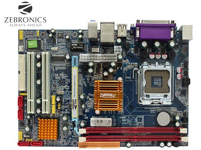 Zebronics ZEB-G31 Socket 775 Desktop Motherboard PC Computer Drivers Collection for Win OS 32-bit and 64-bit