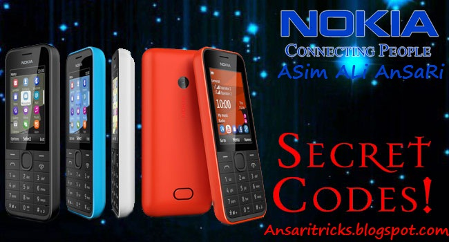 Nokia Mobile All Secret Cheats and Hack Codes