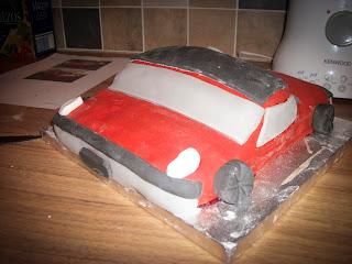 VW Porsche 914 cake