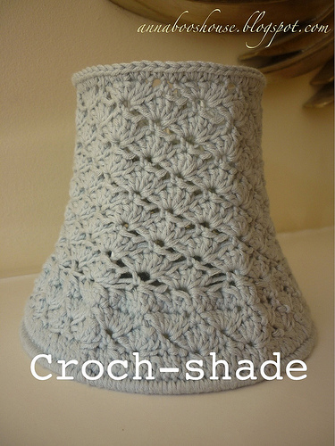 Free Pattern Crochet Lampshade : Be Different...Act Normal: Crochet Lampshades