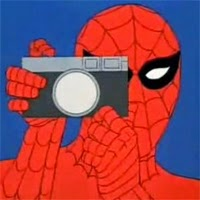 Spiderman / Peter Parker como fotografo