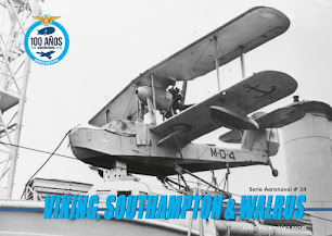 "Serie Aeronaval N°34 ""Viking, Southampton & Walrus"""