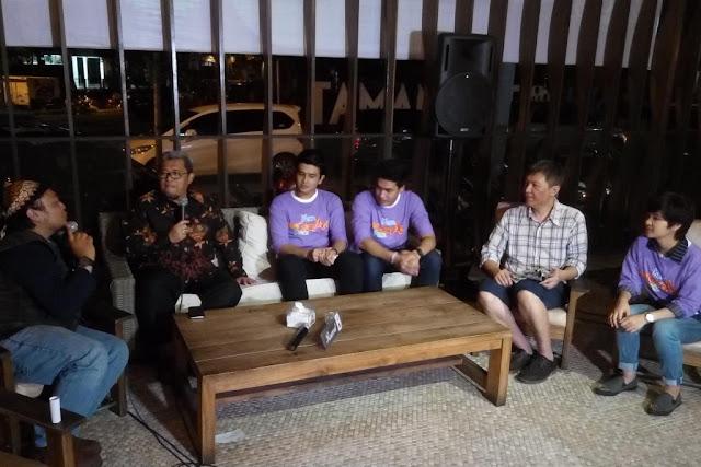 Pemain film Ketika Mas Gagah Pergi bersama Gubenur Jawa Barat