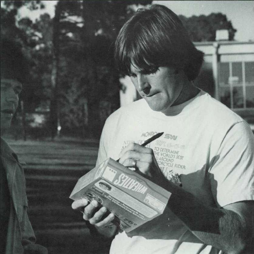 That time Bruce Jenner came to Auburn University