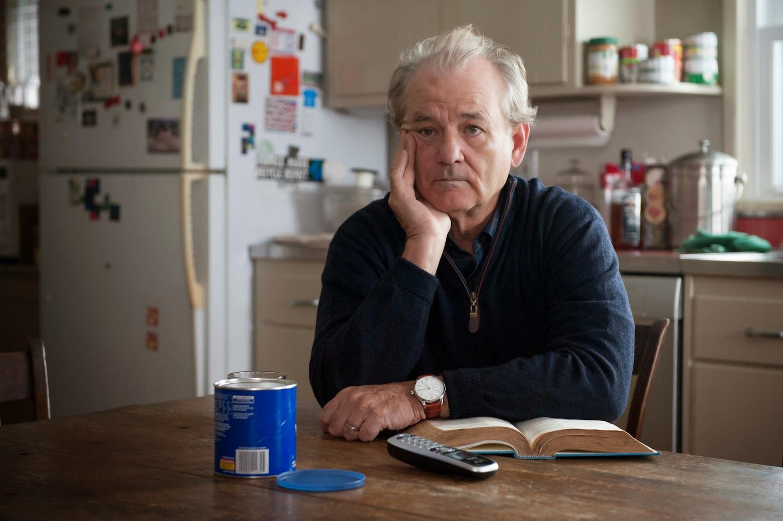 Bill Murray encarna a otro viejo viudo que no se habla con su hija