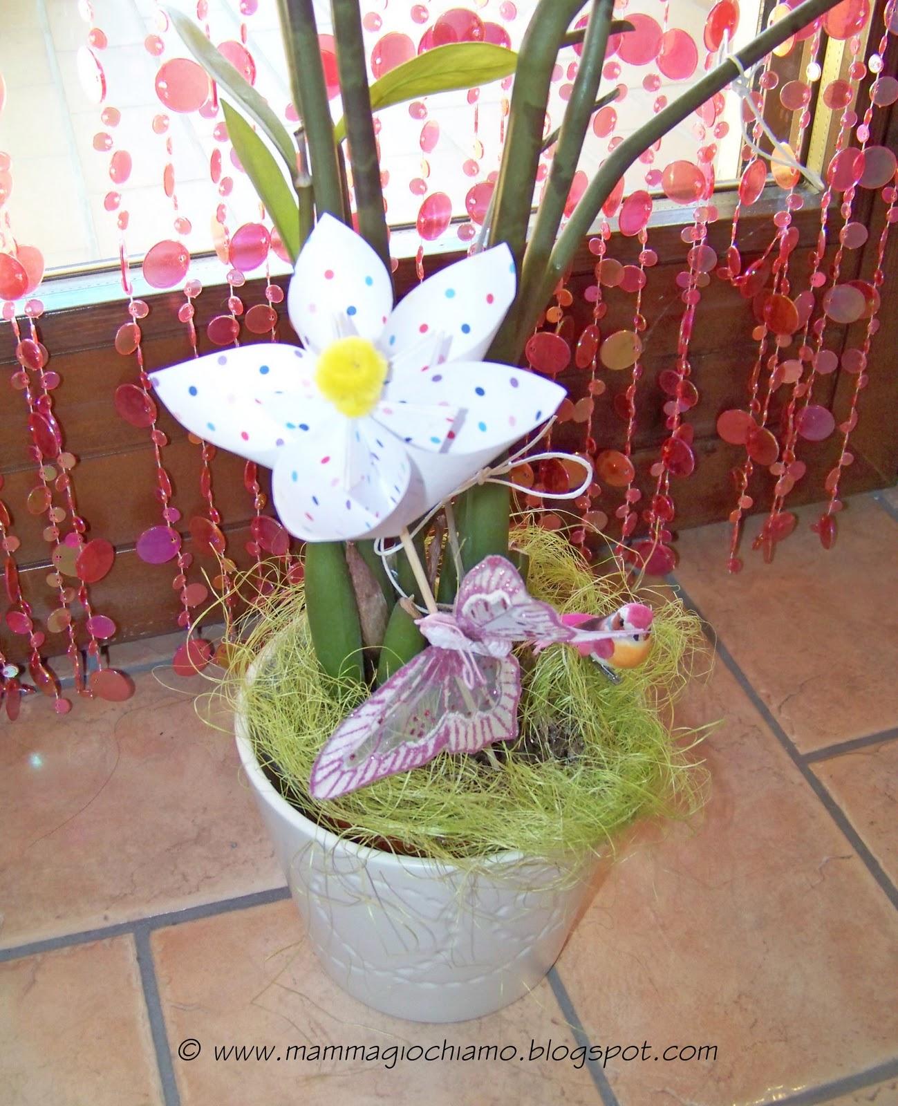 Mamma giochiamo lavoretti di pasqua primavera fiore di for Lavoretti di primavera