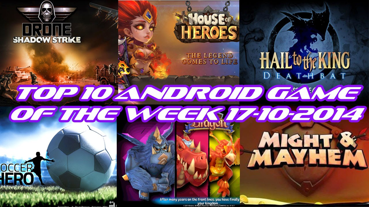 TOP 10 BEST NEW ANDROID GAMES OF THE WEEK - 17th October 2014