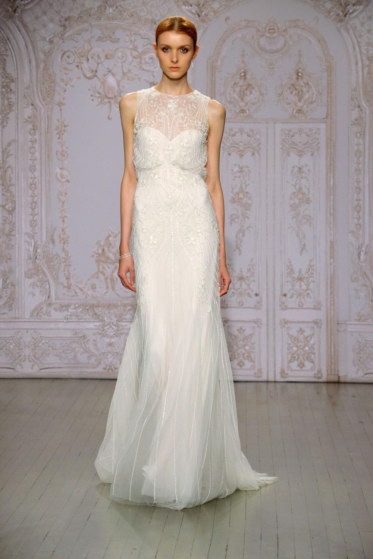 Monique Lhuillier Fall 2015 Wedding Dresses