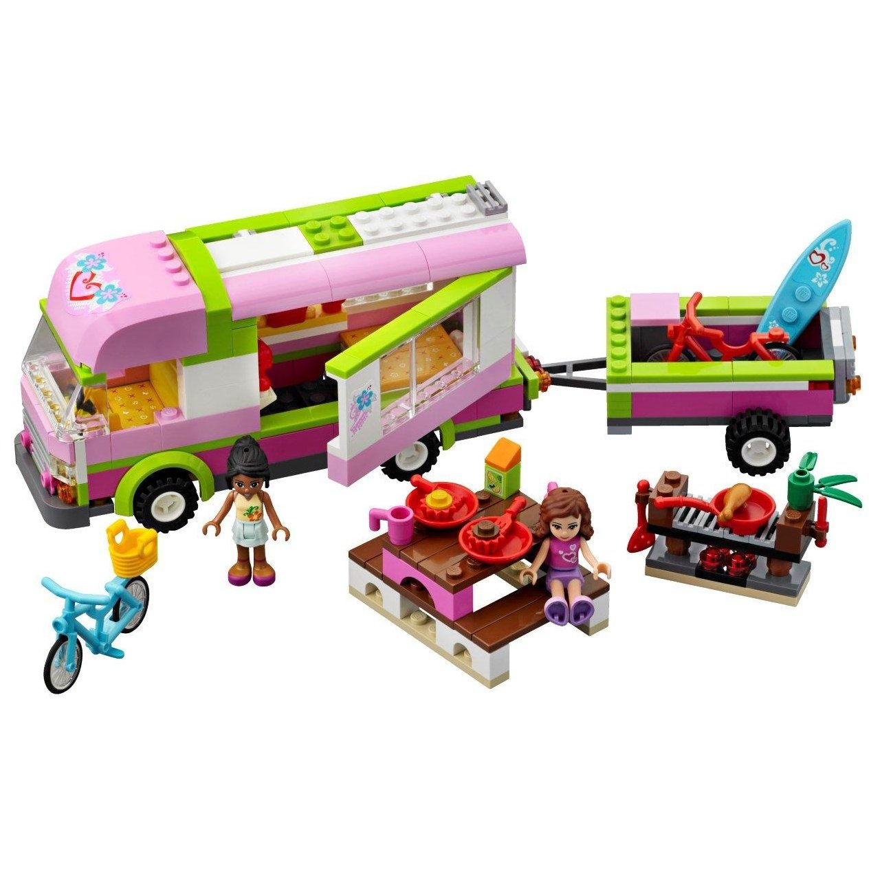 The LEGO FRIENDS are dedicated to girls ages 6. This is the very first set of building blocks for girls introduced in Friend is the main. i love lego friends!