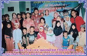 Acara Santunan Anak Yatim dan Kaum Dhuafa 04 Agustus 2013
