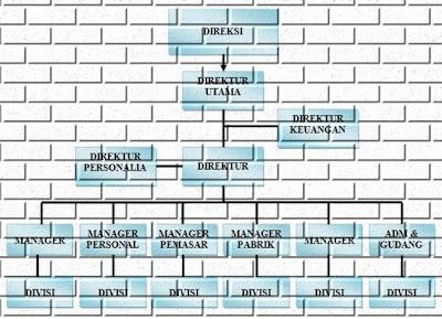 Deskripsi Umum Struktur Organisasi Perusahaan
