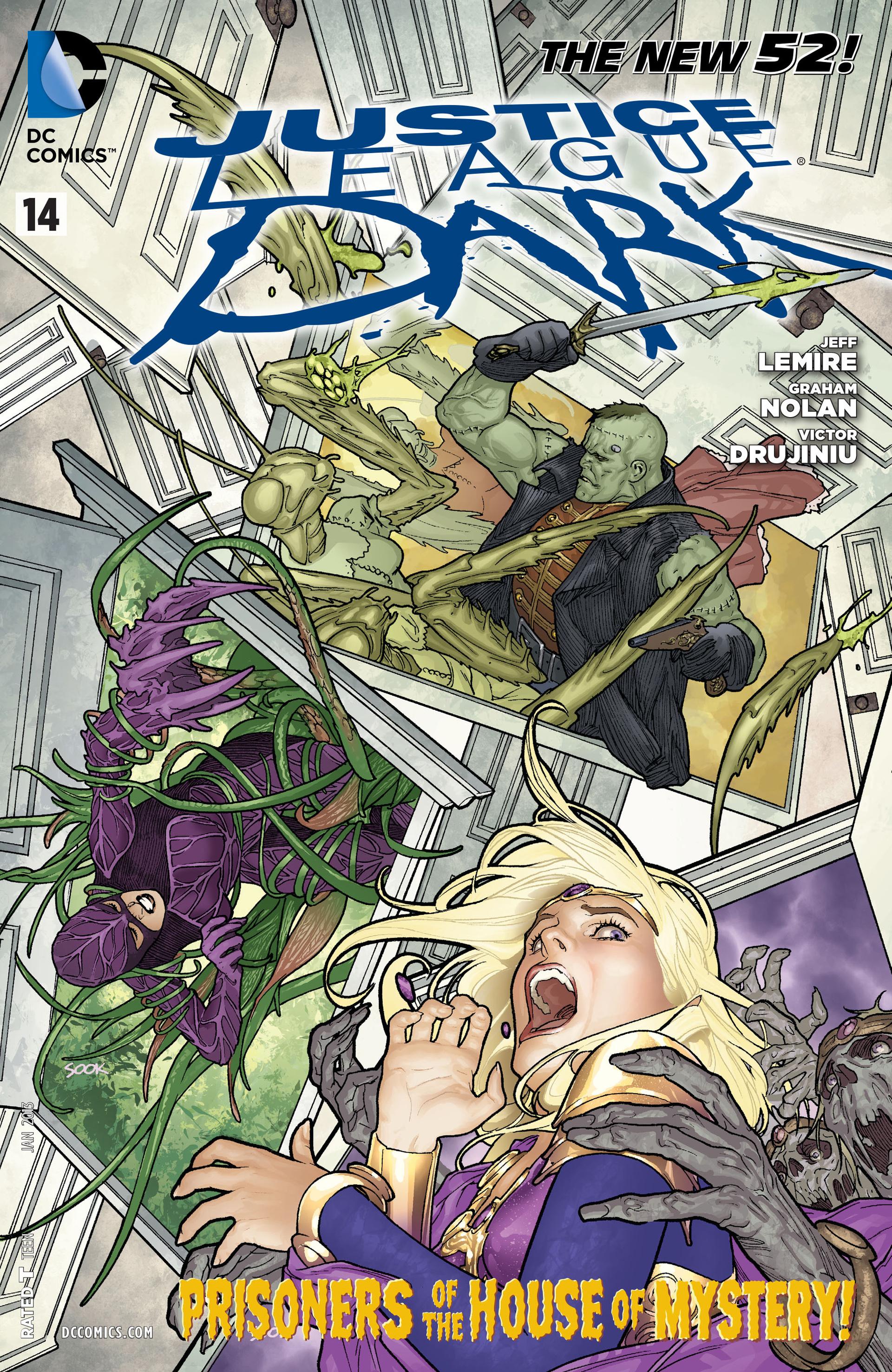 Justice League Dark 14 Page 1