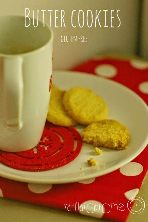 Bezglutenowe ciasteczka maślane. Gluten free !!!