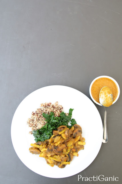 Veggie Coconut Curry Sauce