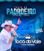 TOCA DO VALE  NA FESTA DO MUNICÍPIO DE CATARINA - ESPAÇO SHOW