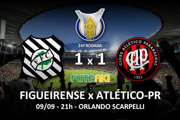 Veja o resumo da partida com os gols e os melhores momentos de Figueirense 1x1 Atlético-PR pela 24ª rodada do Brasileirão 2015.
