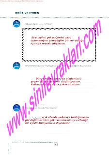 6.Sinif  Turkce Doku Yayinlari Ogrenci Calisma Kitabi Sayfa 66