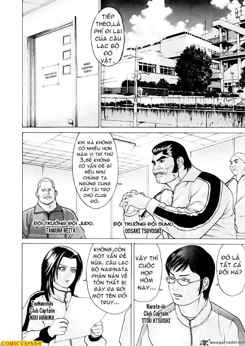 Karate Shoukoushi Kohinata Minoru chap 67 Trang 11