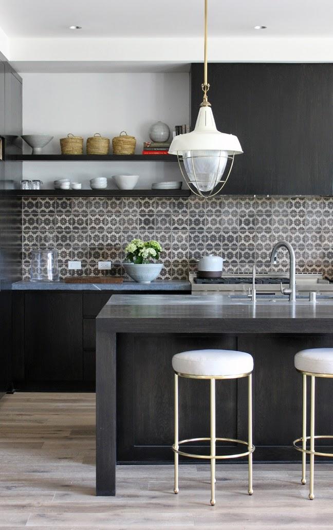 2014 Sunset Idea House Kitchen blackened