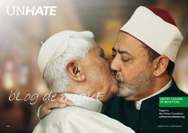 UNHATE, Contra el odio, Benetton, Alessandro Benetton, respeto, tolerancia, Día Internacional de la Tolerancia