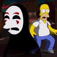 Los Simpsons rinden homenaje a Hayao Miyazaki