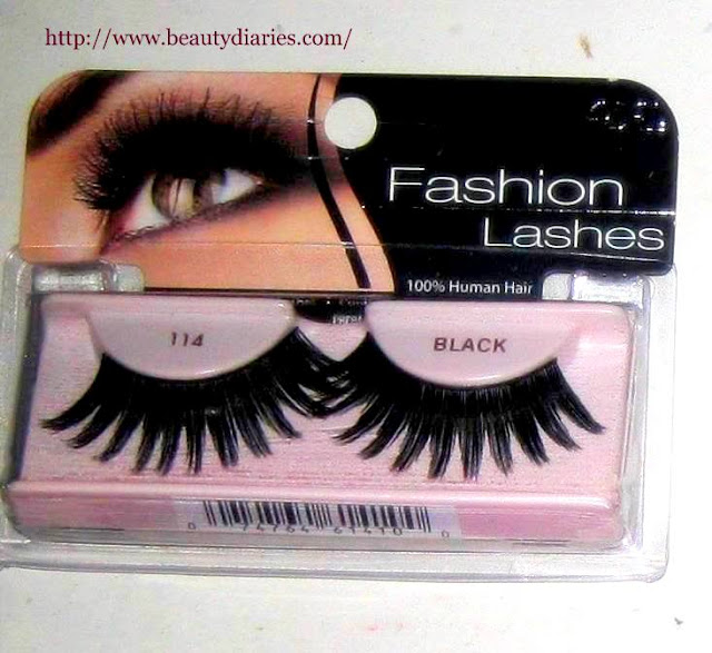 Ardell Fashion Eyelashes 114 (Black)