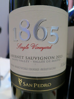 San Pedro 1865 Single Vineyard Cabernet Sauvignon 2013 - Maipo Valley, Chile (88 pts)