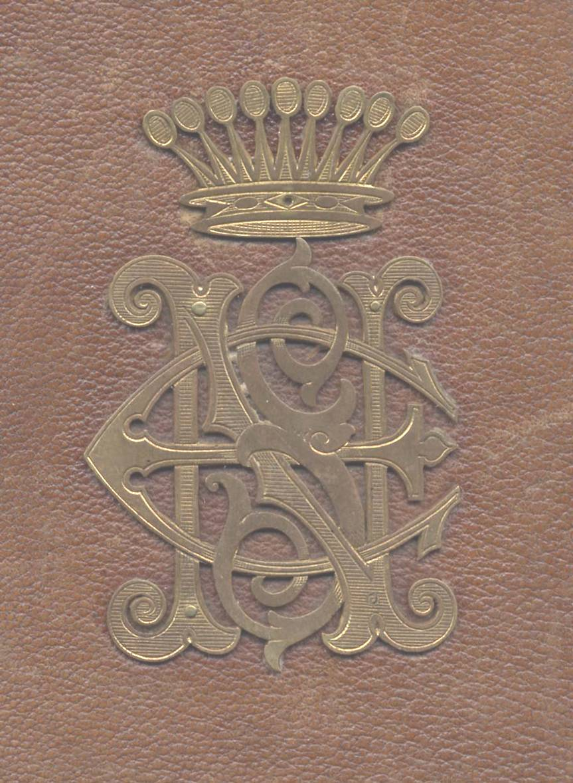 Stampa castel Nako sec.XIX