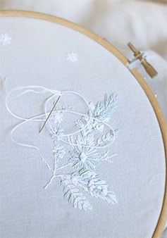 soft embroidery