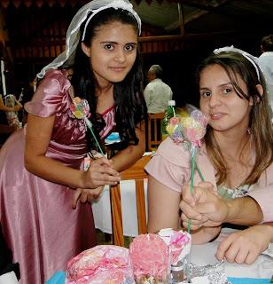 como fazer flores de Jujuba casamento e festas