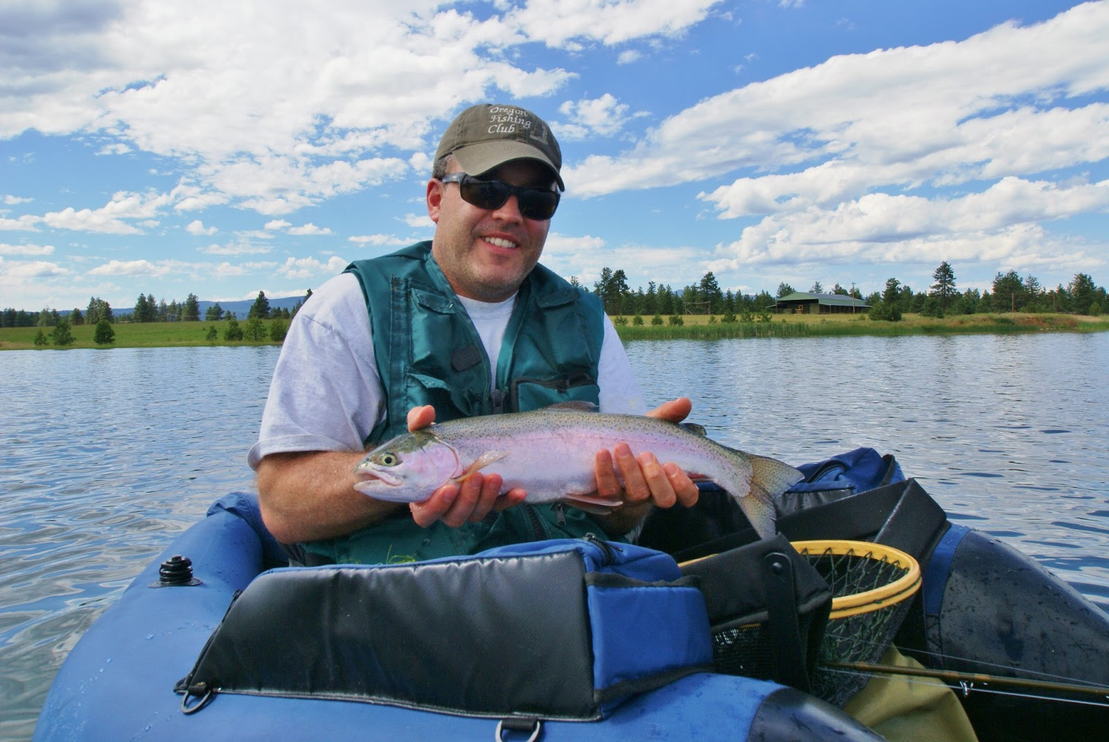 Fly fish oregon water time report fly fishing lakes class for Fishing in portland oregon