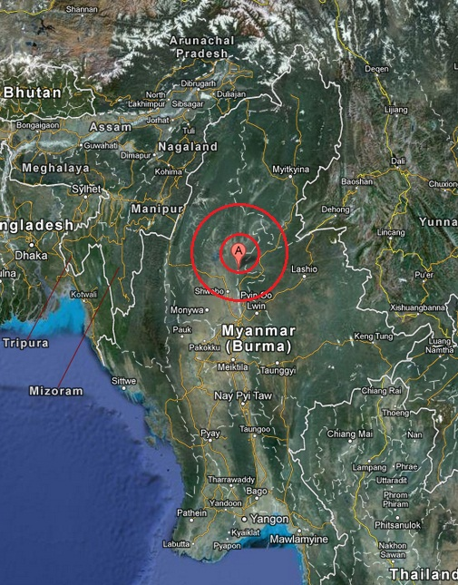 myanmar earthquake 2013 March 30