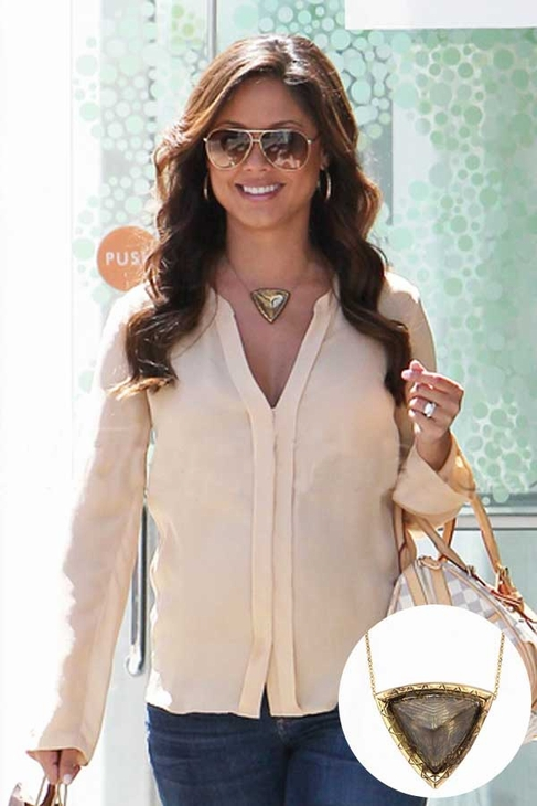 Vanessa Lachey (Minnillo) Wearing House Of Harlow 1960