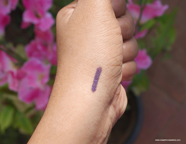review of faces canada long wear eye pencil in purple