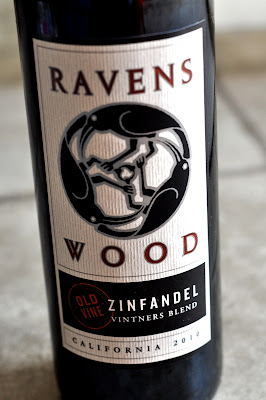 Bottle of Ravenswood Napa Valley Old Vine Zinfandel 2010 - Photo by Michelle Judd of Taste As You Go